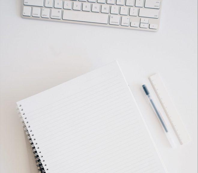 Block penna och dator